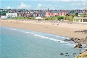 Barry Island near Cardiff
