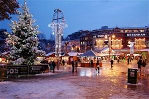 Bournemouth Xmas Market and Christmas Tree Trail