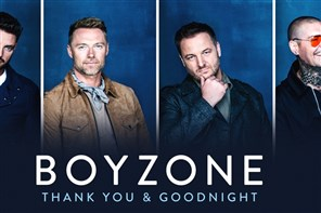 Boyzone Concert - Genting Arena Birmingham