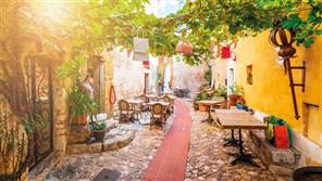 Gold Idyllic Italian Riviera