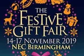 Festive Gift Fair Birmingham NEC