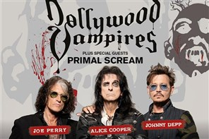 Hollywood Vampires - Birmingham COACH ONLY Service