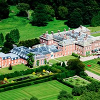 Hereford and Holme Lacy House with tea