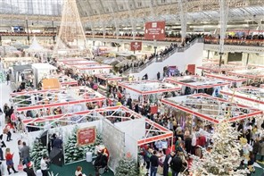 Ideal Home Show at Christmas Olympia London