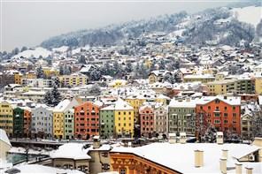 Festive Gold Christmas in Austria