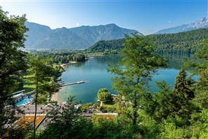 Gold Coach Lake Levico - A Trentino Treat