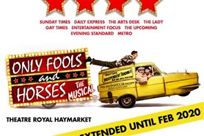 Only Fools and Horses Musical - London matinee