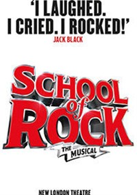 School Of Rock London - matinee