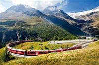 Gold Lake Como & Bernina Express