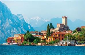 Festive Gold Lake Garda