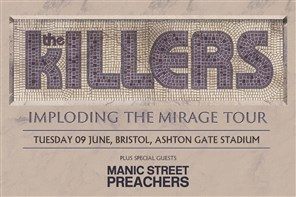 The Killers - COACH ONLY Exeter to Bristol