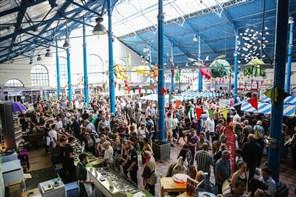 Abergavenny on Market Day
