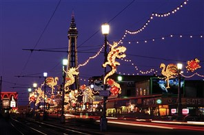 Blackpool Illuminations - late return