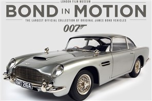Bond In Motion Exhibition of Vehicles GOLD