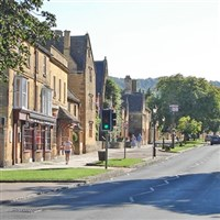Winchcombe and scenic Broadway in the Cotswolds