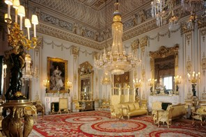 Buckingham Palace State Rooms GOLD