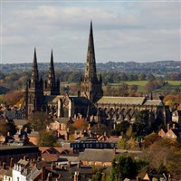 Lichfield for the day - Staffordshire GOLD