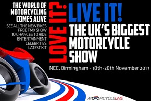 Motor Cycle Live at the NEC