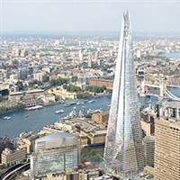 London - Shard View From Level 69 and 72