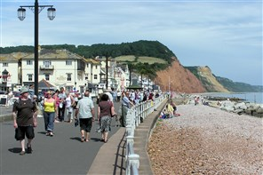 Sidmouth for the day