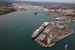 Southampton harbour cruise to see liners in dock