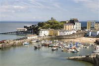 Tenby for the day